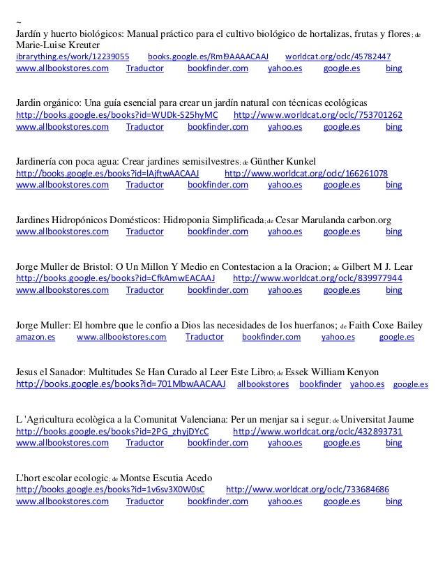 huerto ecol gico tecnolog as sostenibles agricultura On jardin y huerto biologicos marie luise kreuter pdf
