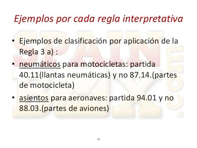 Spainbox tutorial clasificacion arancelaria for Clasificacion de alfombras