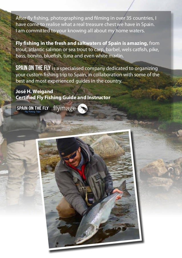 Fly fishing in spain travel catalog 2014 2015 for Fly fishing catalog