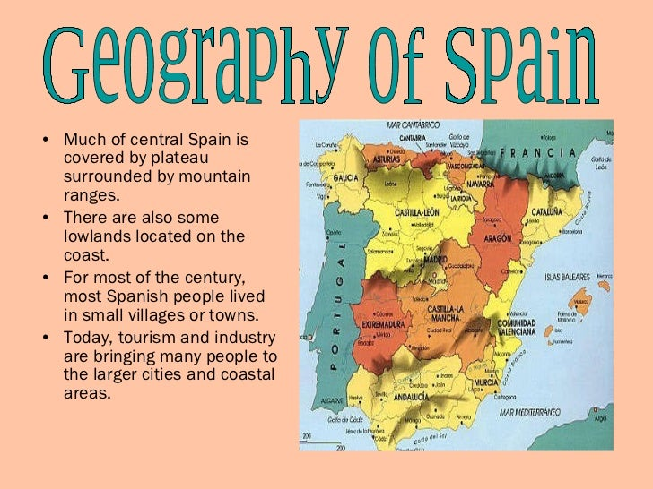 Spain Powerpoint - Where is spain located