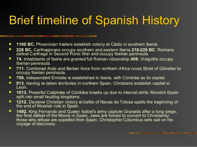 a brief historical view of the country of spain Despite a view of galicia as one of the poorer provincial spanish cousins, the region is rich in both off, never to be seen again it was the north eastern region of spain that succumbed.