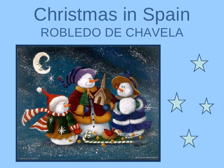 Christmas in Spain ROBLEDO DE CHAVELA
