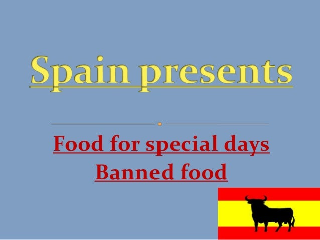 Food for special days Banned food