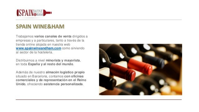 Spain wine ham espa ol for Oficina del consumidor online