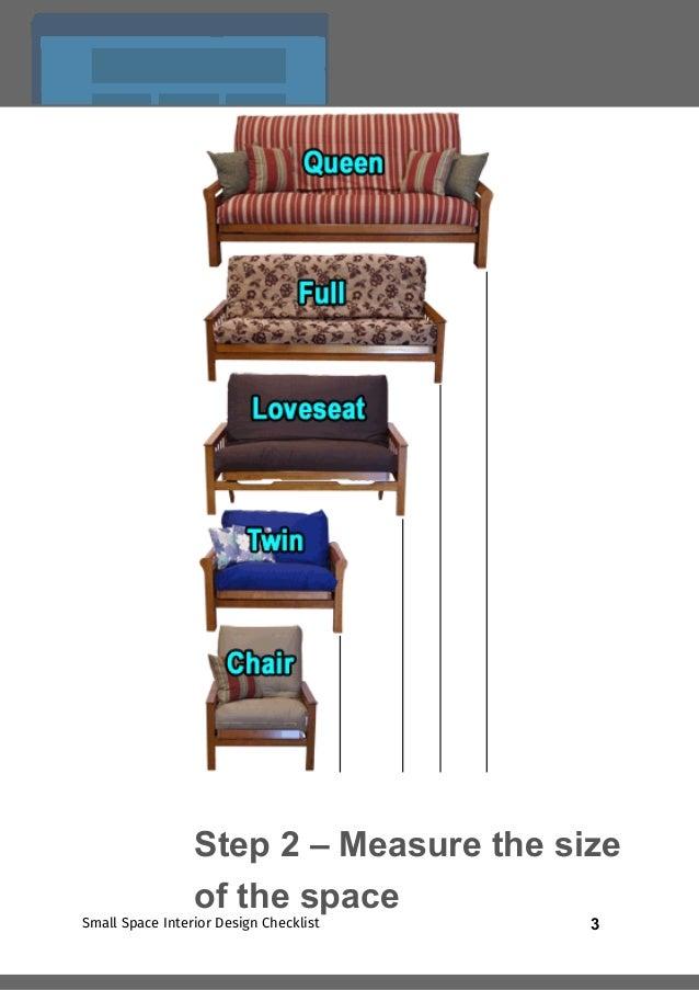 2Small Space Interior Design Checklist Step 1 U2013 Check The Room Size; 3.