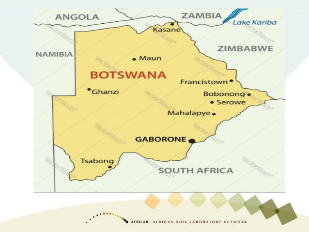 OVERVIEW  Botswana is landlocked country in the centre of Southern Africa  Population of 2,039 million  Area 531 738 sq...