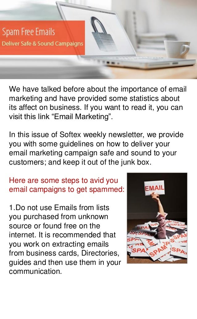 We have talked before about the importance of email marketing and have provided some statistics about its affect on busine...