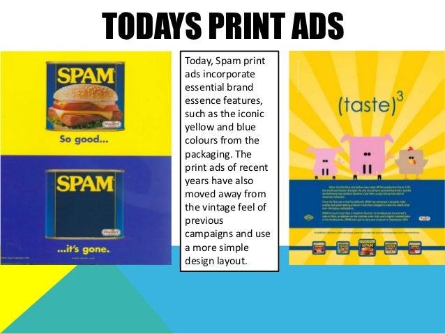 SPAM ADS THROUGH THE YEARS 1930s 1940s 1950s 1960s 1970s 1980s 1990s 2000s 7