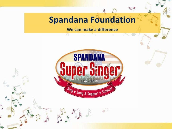 Spandana Foundation<br />We can make a difference<br />