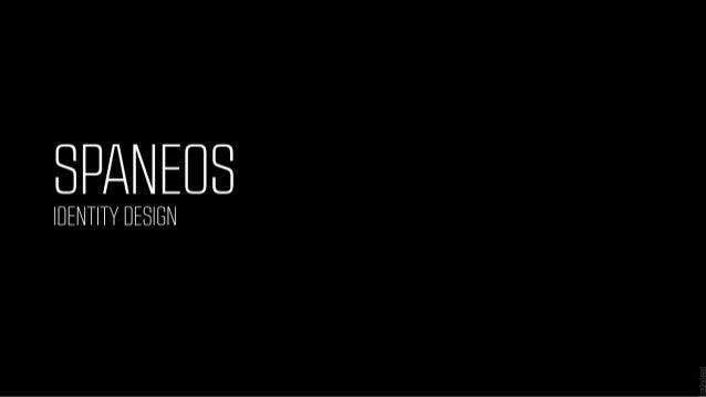 Spaneos Identity Design Presentation