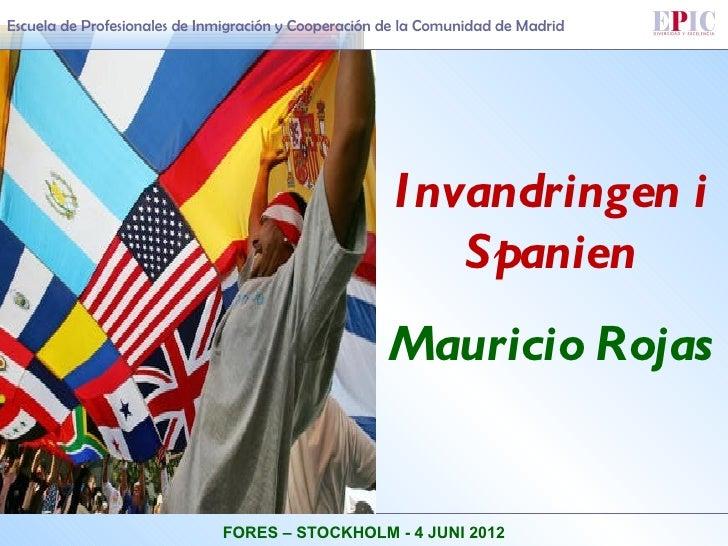 Escuela de Profesionales de Inmigración y Cooperación de la Comunidad de Madrid                                           ...