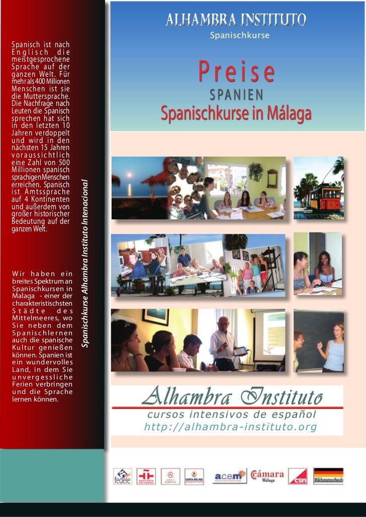 Spanisch Sprachkurse Sprachaufenthalt Spanisch lernen Sprachreisen Spanien Spanisch Lernen Sprachreisen Spanien Sprachschulen