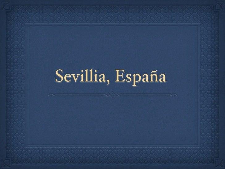 Sevillia, España