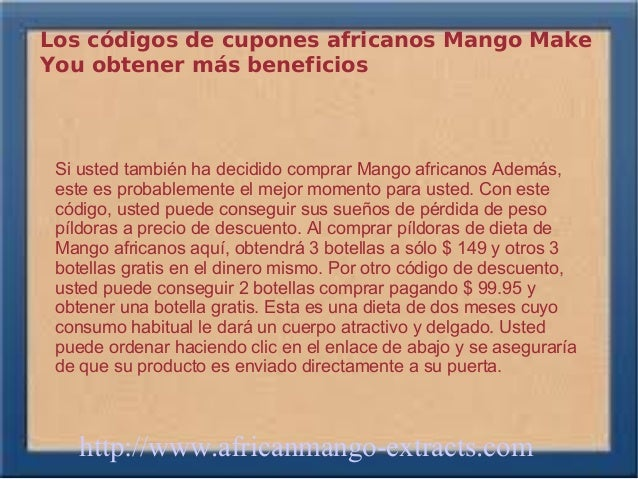 Los códigos de cupones africanos Mango MakeYou obtener más beneficios Si usted también ha decidido comprar Mango africanos...