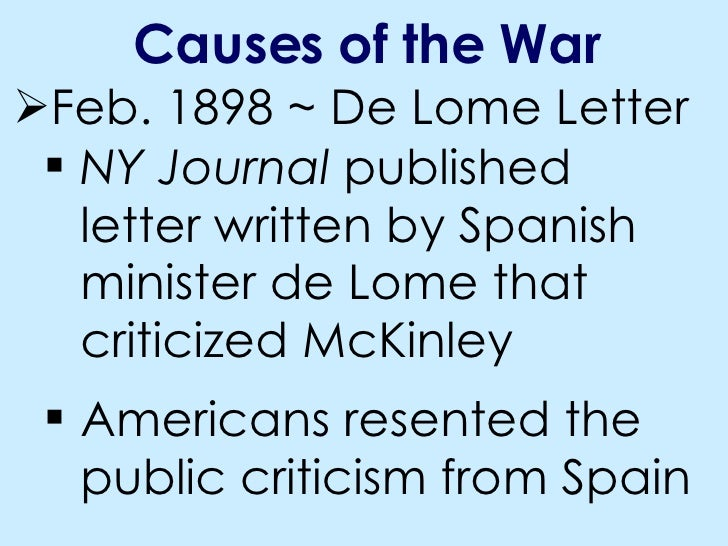 de lome letter oct 23 notes american war 4351