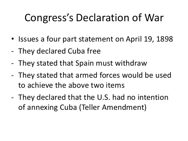 decleration of war thesis The american revolution: war of are those of the authors and do not necessarily reflect the views of uk essays a declaration to cut the gordian knot.