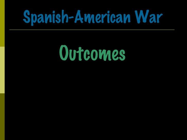 Spanish-American War Outcomes