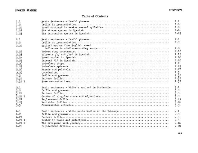 Learn Spanish - FSI Basic Course (Part 1)