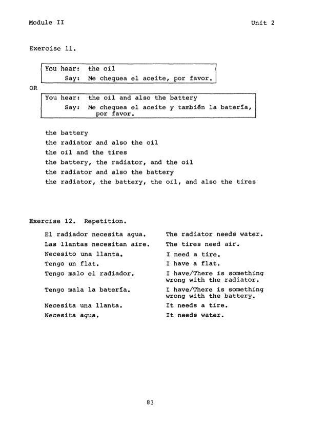 learn spanish fsi headstart latin american spanish