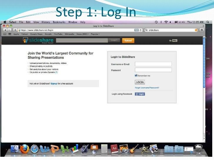 How to use slideshare spanish greetingstx step 1 log in m4hsunfo