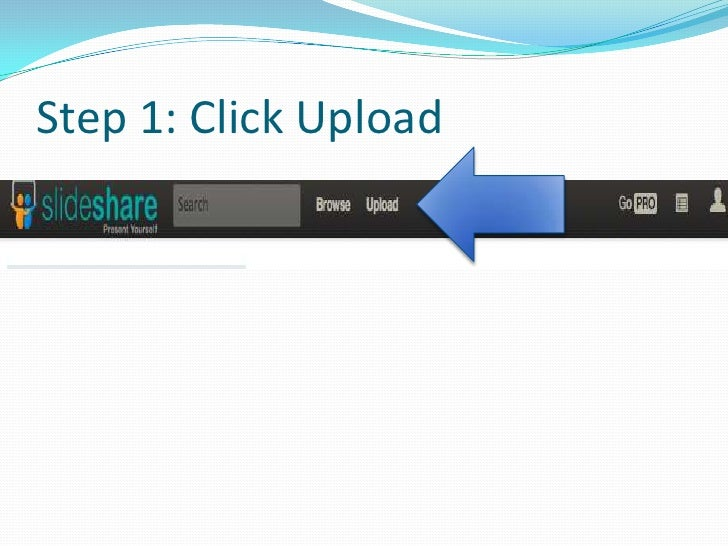 How to use slideshare spanish greetingstx step 1 click upload m4hsunfo Images