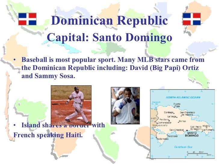 Sammy Sosa Haiti >> Spanish Speaking Countries