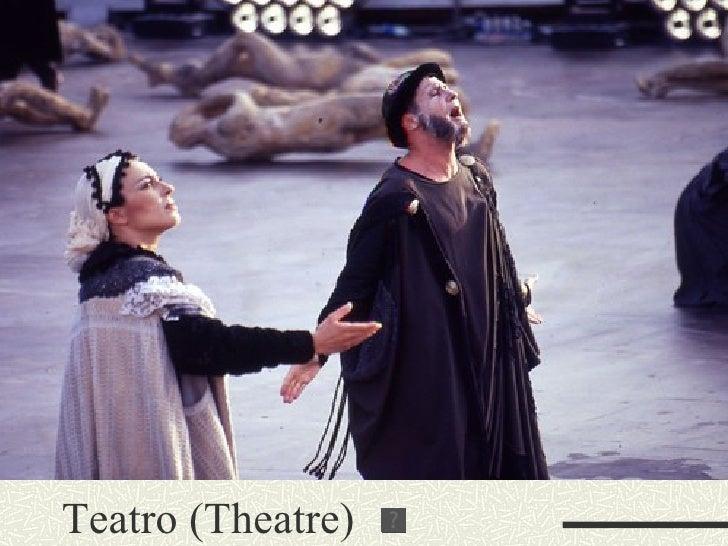 Teatro (Theatre)