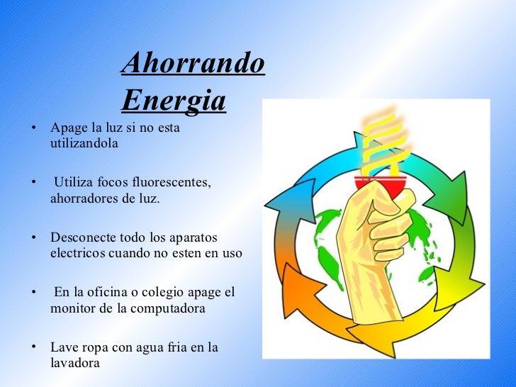 Ayuda cuidar el medio ambiente - Luz y ambiente ...