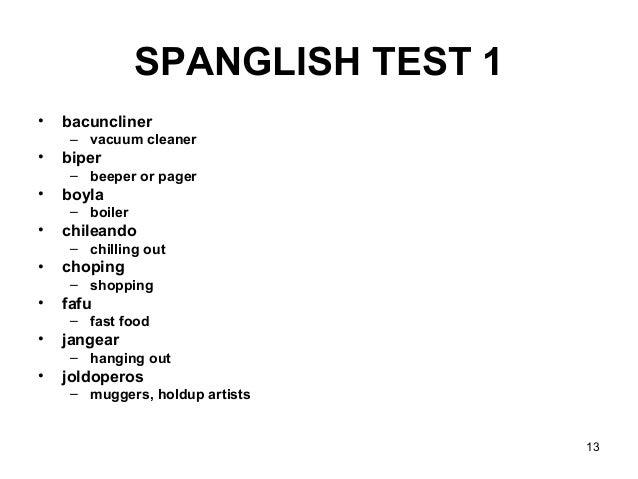 Spanish American Humor