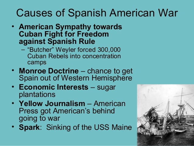 causes and consequences of the spanish What caused the spanish american war detailed timeline will help you understand what led to this war.