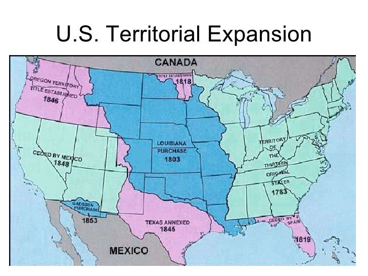 territorial expansion 1800 1900 From the years 1800-1850 the nation was full of battles and prosperity territorial expansion was a cause in most of the battles, but also gained prosperity for the nation.