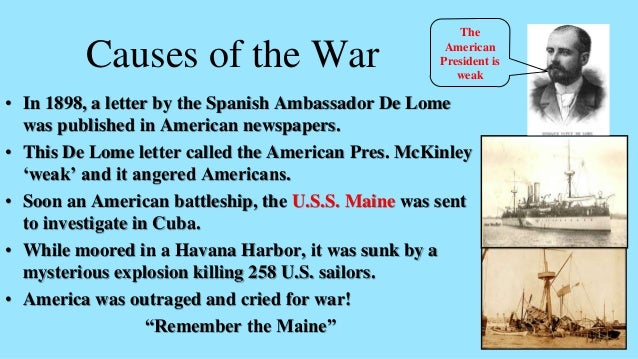 the de lome letter american war yellow journalism 25145