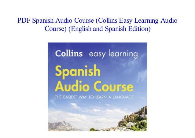 PDF] Spanish Audio Course (Collins Easy Learning Audio