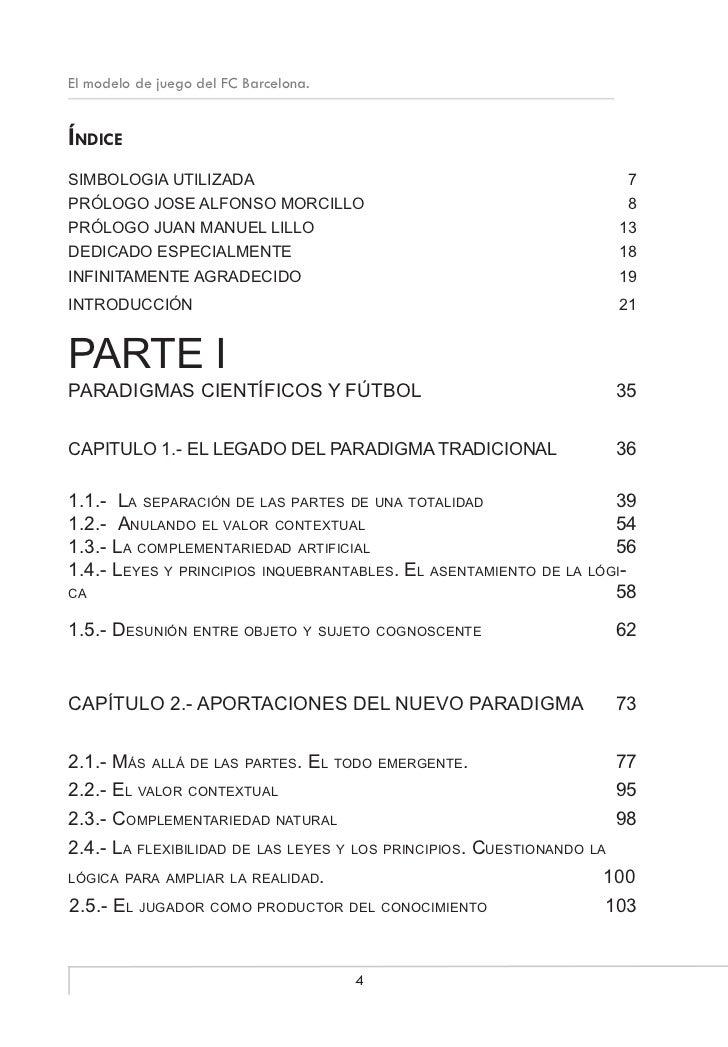 EL MODELO DE  JUEGO DEL F. C. BARCELONA Slide 2