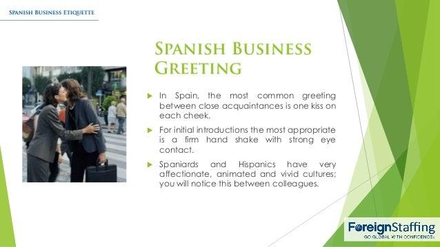 Spanish business etiquette 4 in spain m4hsunfo