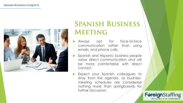 Spanish business etiquette 5 638gcb1455039360 5 m4hsunfo Gallery