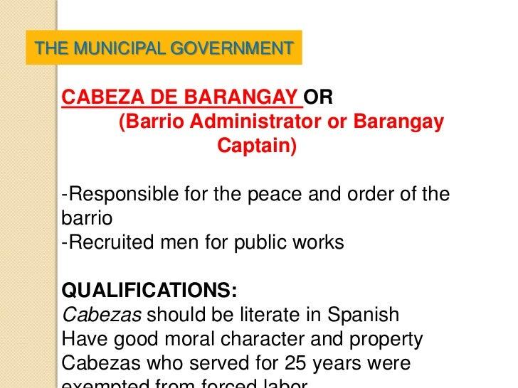 barangay peace and order Sa panig ng barangay, malinaw ang executive order no 366, s1996 na kailangan din iorganisa ang barangay peace and order committee bilang implementing arm ng isang bayan gayundin ang probinsiya.