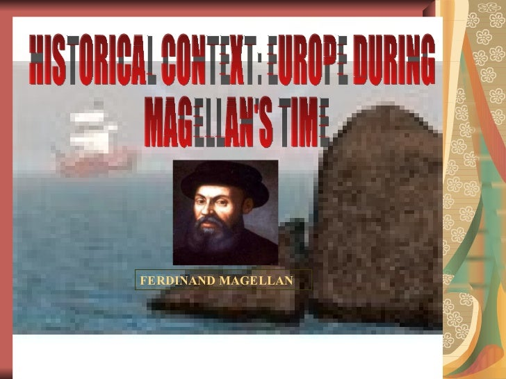 an introduction to the history of the spanish colony ferdinand magellan Start studying chapter 1 history 1301 learn  the introduction of indian food such as corn and potatoes spurred a dramatic increase in  ferdinand magellan.