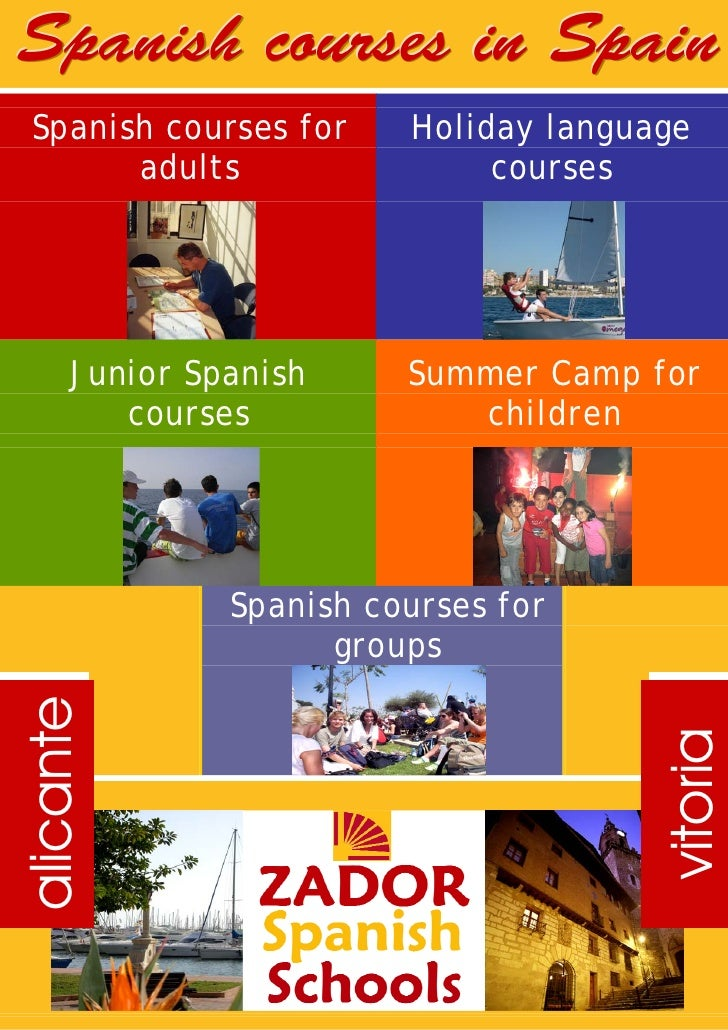 Spanish courses in Spain  Spanish courses for     Holiday language        adults                 courses           Junior ...