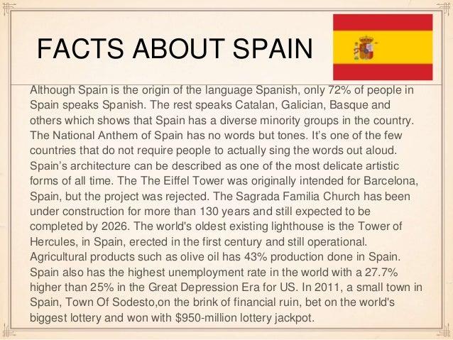 Spain 2016 report