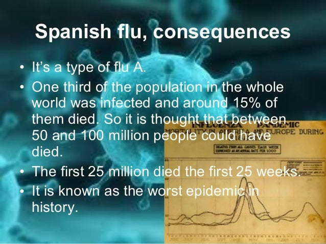 Spanish flu and influenza a