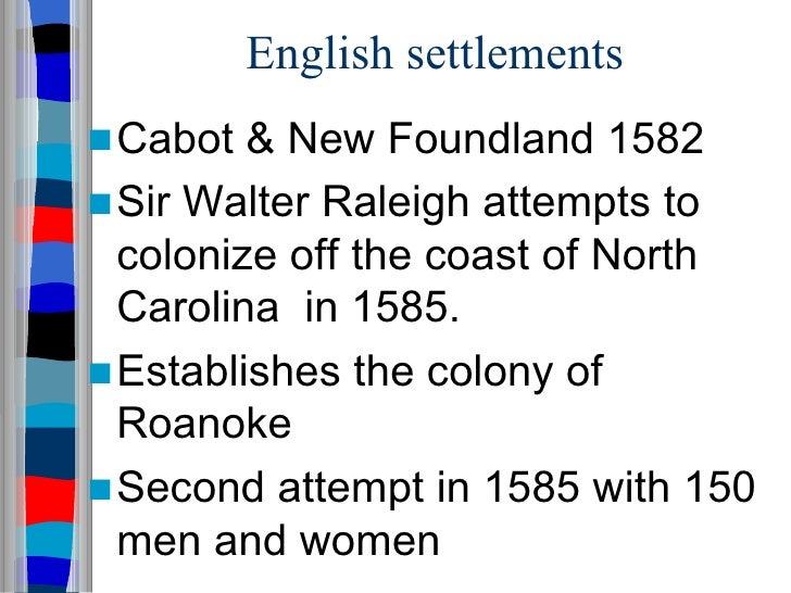 """spanish french and english colonization in Enjoy secrets of spanish florida for more on early florida settlements, check  out the 4-hour extended version of """"america's untold story""""."""