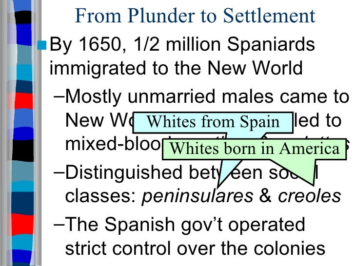a comparison between the spanish and english colonization of the new world A major difference between english and spanish colonization is between spanish colonization and english colonization of the new world.