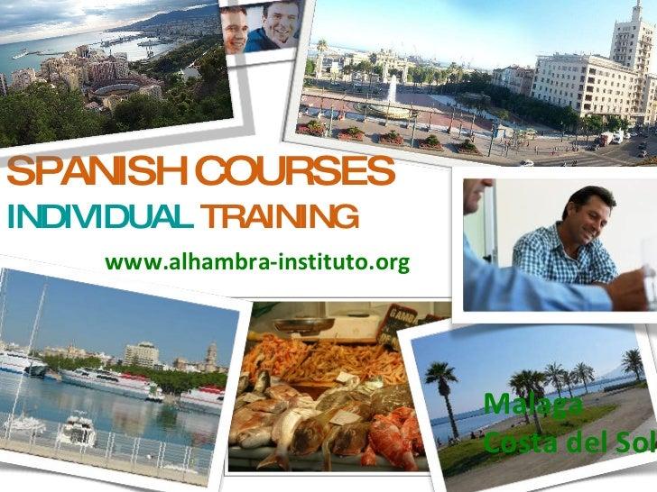 Individual Spanish Courses Private Spanish course individual Spanish classes