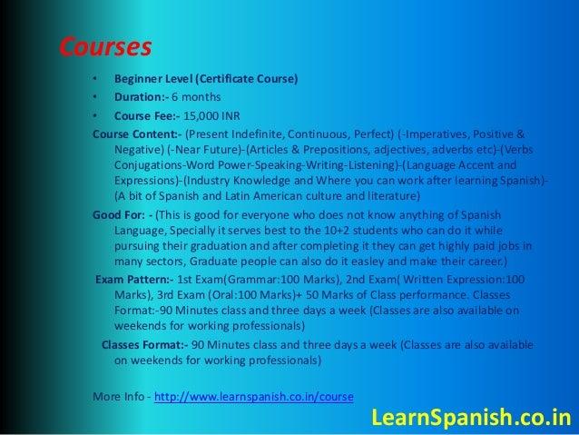 Spanish Institutes in Delhi Slide 3