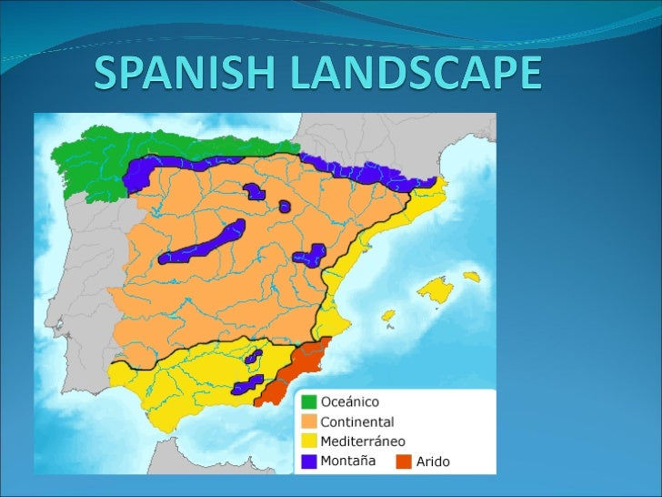 Spanish Landscape And Climate