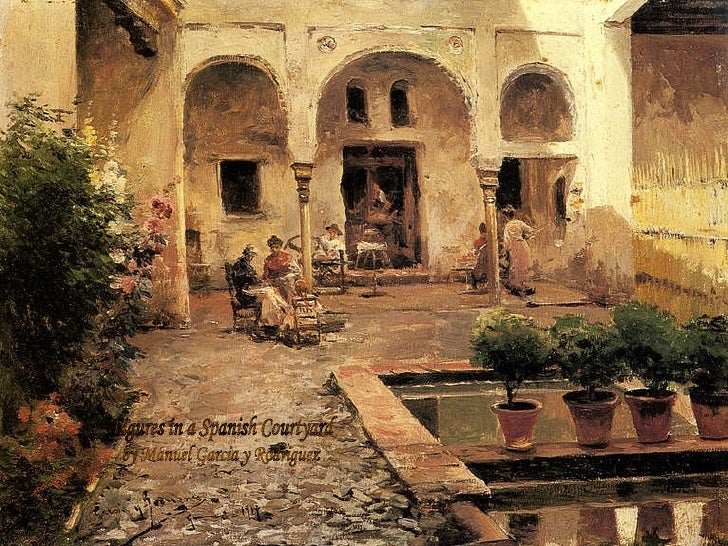 Spanish Oil Painting By Artist Phil