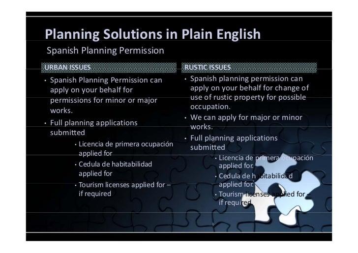 Spanish planning permission pd5 - Cedulas de habitabilidad ...