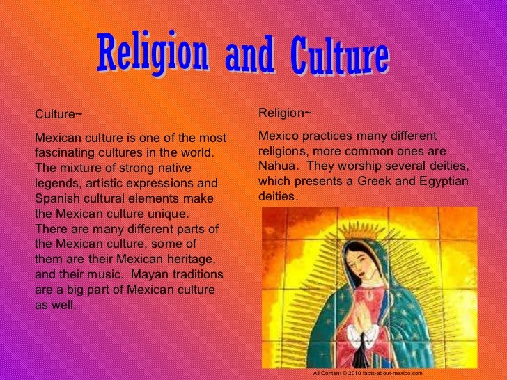 mexican religion This is the first study to show that religious faith by itself, independent of medical  intervention and quality of life issues, can help older people.