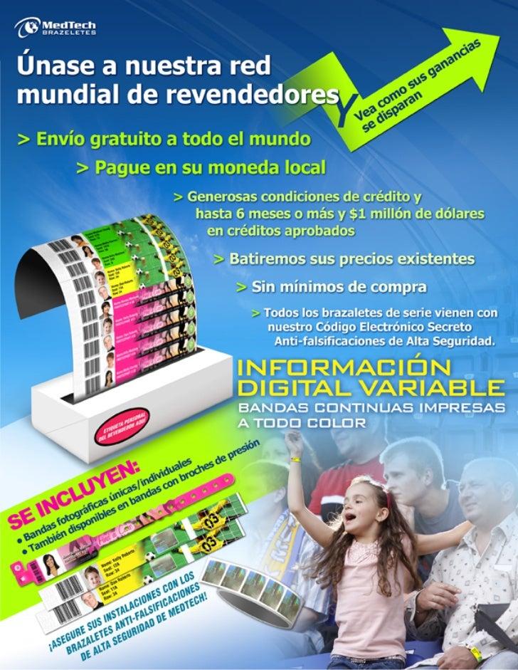 Re-Seller Information - SPANISH